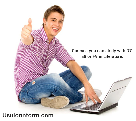 Courses you can study with D7 in literature